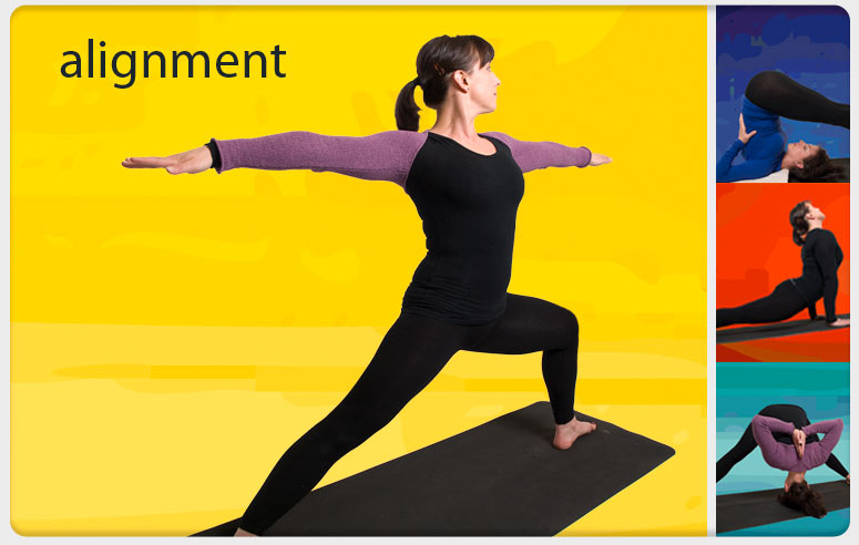 Iyengar Yoga alignment poses taught by Eight in Cambridge