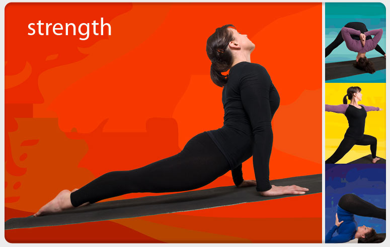 Iyengar Yoga strength poses taught by Eight in Cambridge